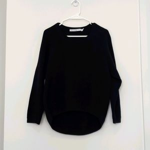 & Other Stories - High/Low Cotton Cocoon Sweater